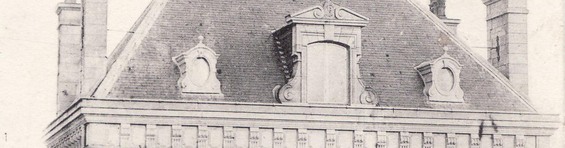 Manoir detail lucarnes