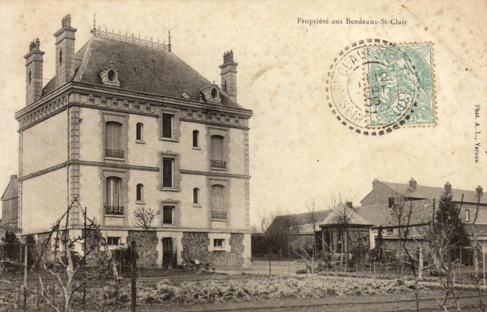 Manoir face voie verte 1906