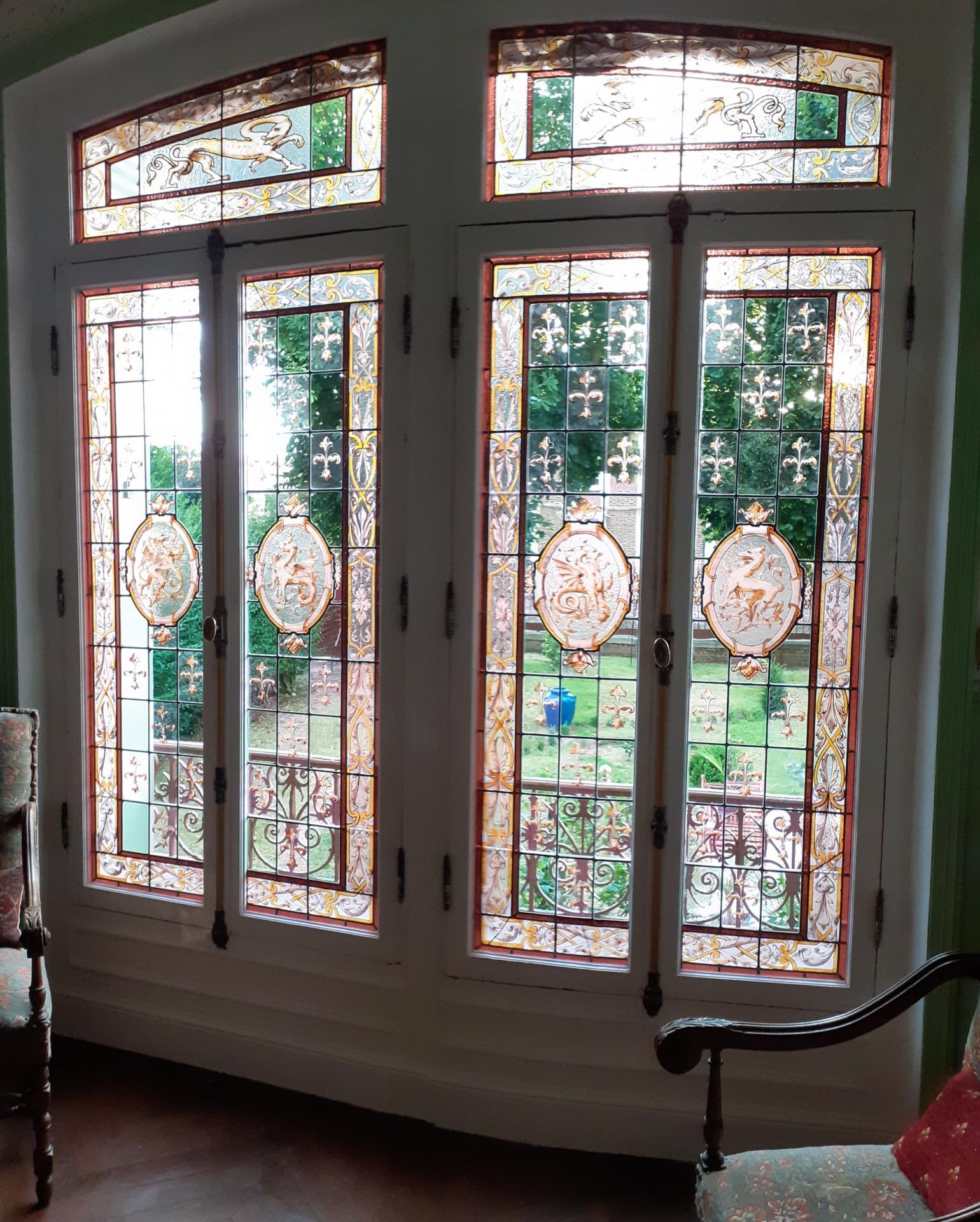 Sam vitraux restaures